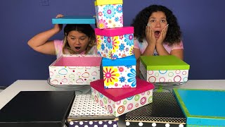 Download DON'T CHOOSE THE WRONG MYSTERY BOX OF SLIME CHALLENGE Video