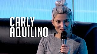 Download Carly Aquilino Talks Netflix & Chill + Her Most Embarrassing Moment! Video