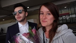 Download SURPRISING HER AT THE AIRPORT! Video