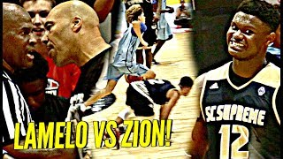 Download LaMelo Ball vs Zion Williamson WAS INSANE!!! Melo BREAKING Ankles & Zion BEASTING! INSANE CROWD! Video