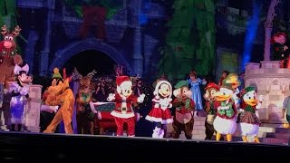 Download Mickey's Most Merriest Celebration 1080p HD - Mickey's Very Merry Christmas Party 2016 Magic Kingdom Video