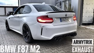 Download Collecting my ARMYTRIX exhaust for my BMW F87 M2   Alex Hardt Video