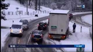 Download Chutes de neige dans le Doubs Video