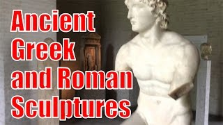 Download Ancient Greek Roman Statues Sculptures Tour at Glyptothek Museum Munich Germany Video