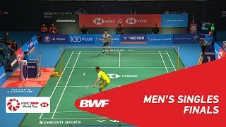 Download MS | LEE Chong Wei (MAS) [7] vs Kento MOMOTA (JPN) | BWF 2018 Video