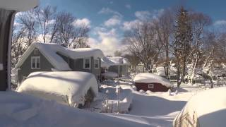 Download Hamburg Buffalo snowstorm: How to Remove 6' lake effect snow from Your Roof Pt 2 Video