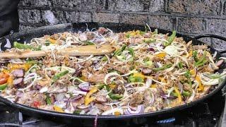 Download The Louisiana Gumbo. Eaten in Borough Market. London Street Food Video
