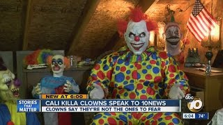Download Cali Killa Clowns defend local scares but say don't trust clowns at night Video