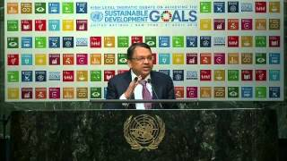 Download Olam CEO and Co-Founder speaks at UN on Achieving the SDGs Video
