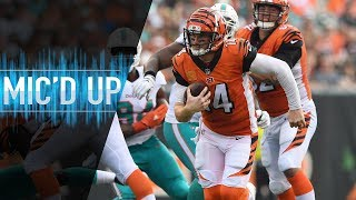 Download Andy Dalton Mic'd Up vs. Dolphins ″Everybody Chill″ | NFL Films Video