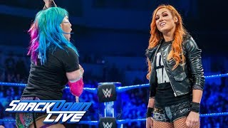 Download Asuka punches Becky Lynch during heated confrontation: SmackDown LIVE, Jan. 22, 2019 Video