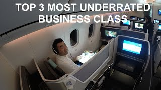 Download Top 3 Most UNDERRATED Business Class - Fly Luxury with a Budget! Video