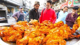 Download Street Food IFTAR in Karachi for RAMADAN!!! EXTREME Chicken Chargha + IFTARI Street Food in Pakistan Video
