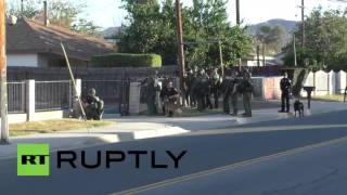 Download USA: 2 suspects killed after police shootout follows deadly San Bernardino attack Video
