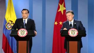 Download Declaración Pdte Juan Manuel Santos y Primer Ministro de la República Popular China, Li Keqiang Video
