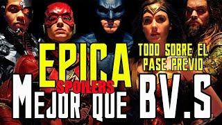 Download JUSTICE LEAGUE - ÉPICA - FIRST REVIEWS - BATMAN V. SUPERMAN - EPIC - WARNER - LIGA JUSTICIA Video