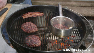 Download Whiskey Bacon n' Egg Cheeseburger by the BBQ Pit Boys Video