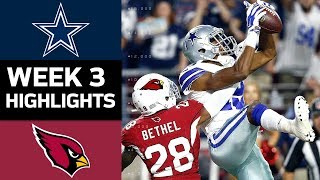 Download Cowboys vs. Cardinals | NFL Week 3 Game Highlights Video
