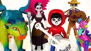 Download Minion stole Coco Miguel's guitar~! Find the guitar with the Dante, Pepita! - PinkyPopTOY Video