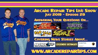 Download Arcade Repair Tips - Live Show - Episode 29 Video