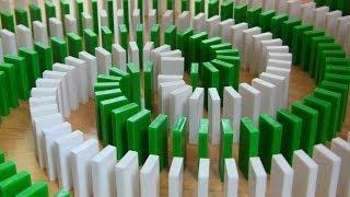 Download INSANE Domino Tricks! (Hevesh5 & MillionenDollarBoy) Video