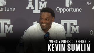 Download Football Weekly Press Conference | Kevin Sumlin 10.17.17 Video
