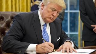 Download Trump signs memorandum leaving TPP Video