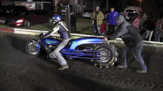 Download Fire Breathing Turbo Kawasaki Dirt drags Video