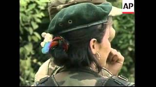 Download Colombia FARC woman, interviews with female rebels - 2001 Video