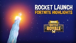 Download The Rocket Launch!!! - Fortnite Battle Royale Highlights - Ninja Video