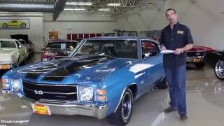 Download 71 CHEVROLET CHEVELLE SS454 for sale with test drive, driving sounds, and walk through video Video