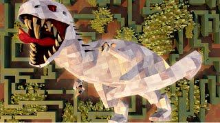 Download Minecraft | MURDER MAZE CHALENGE - Indominous Rex Escapes! (Jurassic Park Dinosaurs) Video