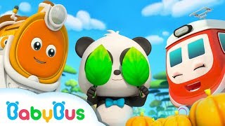 Download Baby Panda Plays Hide and Seek | Super Train Rescue Team | Super Panda, Monster Police Car | BabyBus Video
