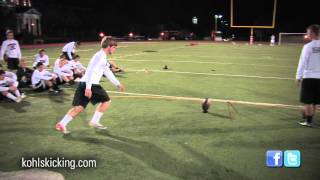 Download Field Goal Competition | National Underclassman Challenge | Kohl's Kicking Camps Video