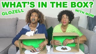 Download What's in The Box? - GloZell with Mom Video