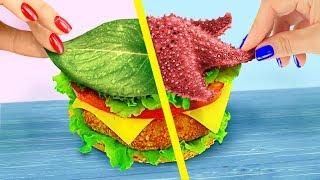 Download 10 DIY Amazing Mermaid Fast Food vs Fairy Fast Food Challenge! Video