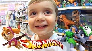 Download Brinquedos da Patrulha Canina e Hot Wheels na Loja de Brinquedos Toys R Us Video