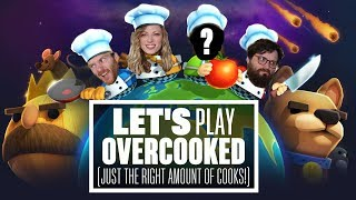 Download Let's Play Overcooked - JUST THE RIGHT AMOUNT OF COOKS! Video