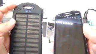 Download cargador portatil solar para celular, recomendaciones y funcionamiento Video