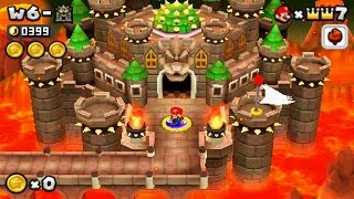 Download New Super Mario Bros 2 - World 6 Final Castle Video