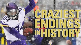 Download The Craziest Final 2 Minutes in NFL History | NFL Vault Video