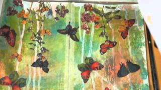 Download Mixed Media Friday Tutorial -Art Journal Page Video