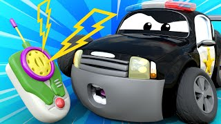 Download Car Patrol - The power cut - Car City ! Police Cars and fire Trucks for kids Video