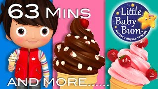 Download Ice Cream Song | Part 2 | Plus Lots More Nursery Rhymes | 63 Minutes Compilation from LittleBabyBum! Video