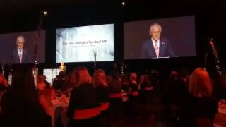 Download Prime Minister, Hon Malcolm Turnbull speech at the Migration & Settlement Awards Dinner2017 Video