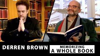 Download Memorizing An Entire Book In Under 20 Minutes - Derren Brown Video