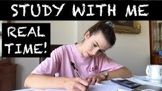 Download REAL TIME STUDY WITH ME | CAMBRIDGE UNI STUDENT Video