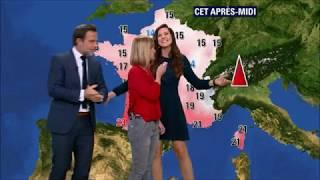 Download BFMTV - Quand la présentatrice météo se voit remplacée par les présentateurs du journal Video