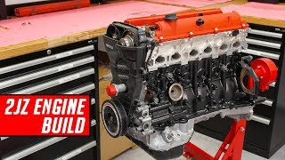 Download Toyota 2JZ Engine Build - Full Start to Finish Video