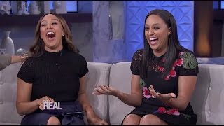 Download Tia Mowry-Hardrict Stops by 'The Real'! Video